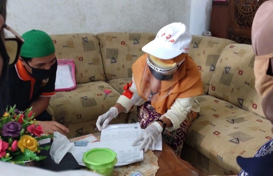 KPU kabupaten Kotabaru kembali melakukan pemutakhiran data pemilih