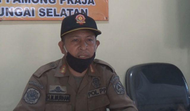 Muhammad Murhan, kabid ketertiban umum dan penerapan perda Dinas Satpol PP HSS