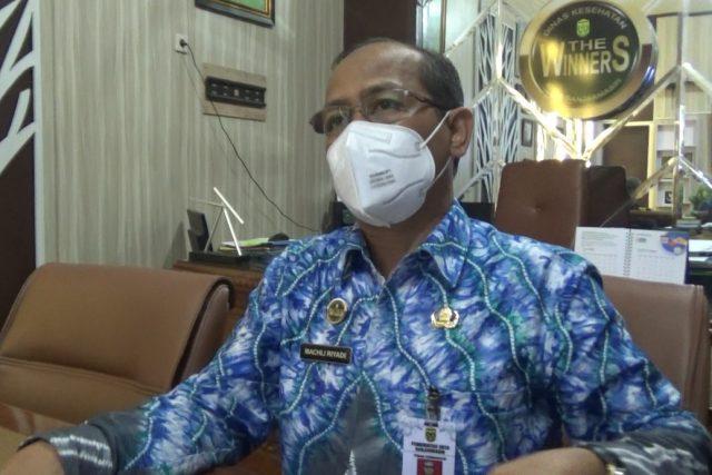 Machli Riyadi, jubir tim GTPP Covid-19 kota Banjarmasin