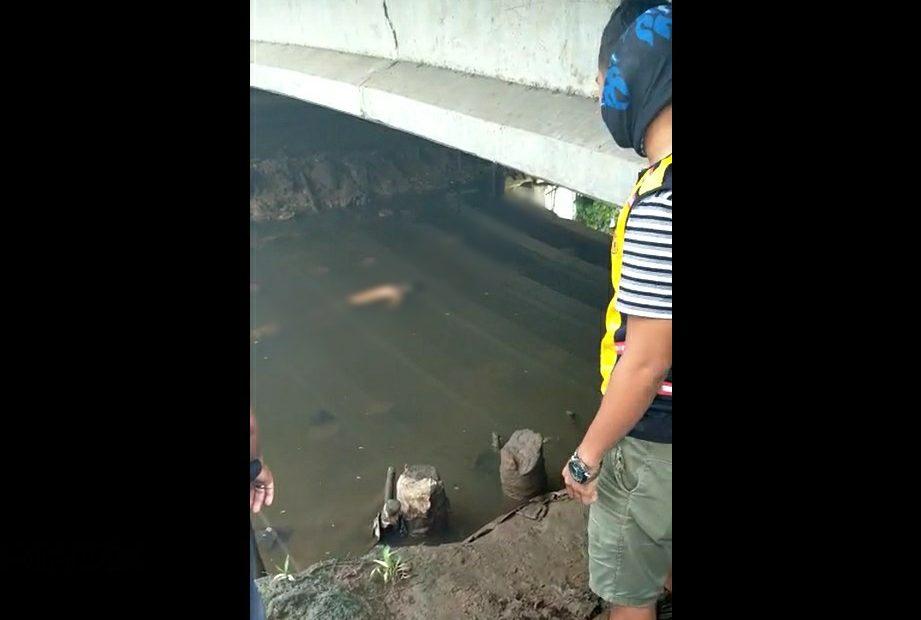 penemuan mayat di bawah jembatan Rawasari