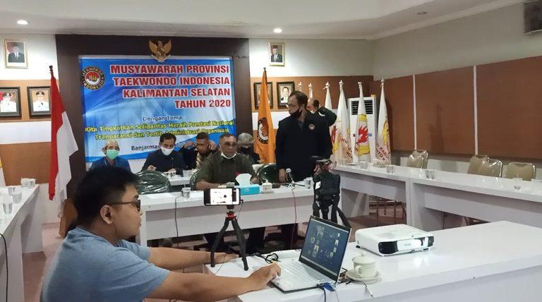 Bambang Supriadi Ingin Benahi Koordinasi Kepengurusan Taekwondo Kalsel