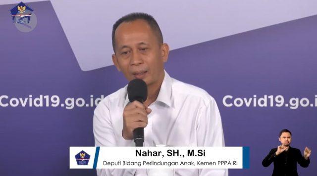 Deputi Bidang Perlindungan Anak Kementerian Pemberdayaan Perempuan dan Perlindungan Anak, Nahar