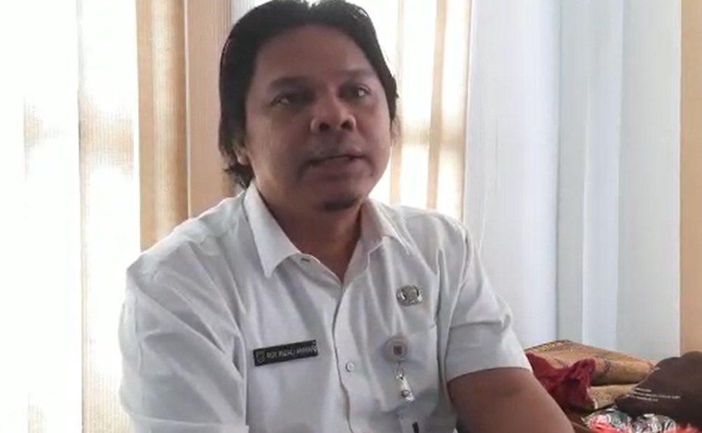 wakil ketua harian Tim GTPP Provinsi Kalsel, Roy Rizali Anwar