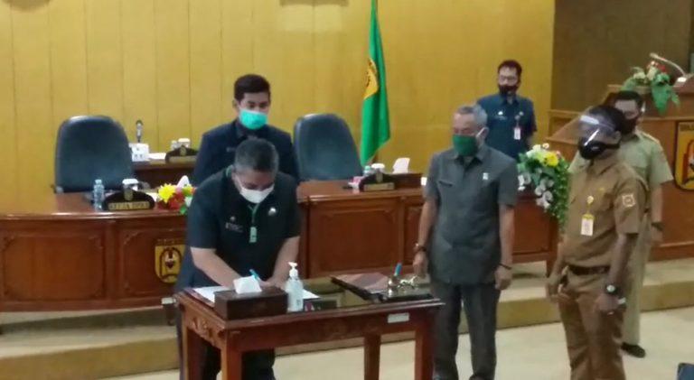 Denda Rp250.000,- Hadang Pelanggar Protokol Covid di Banjarbaru