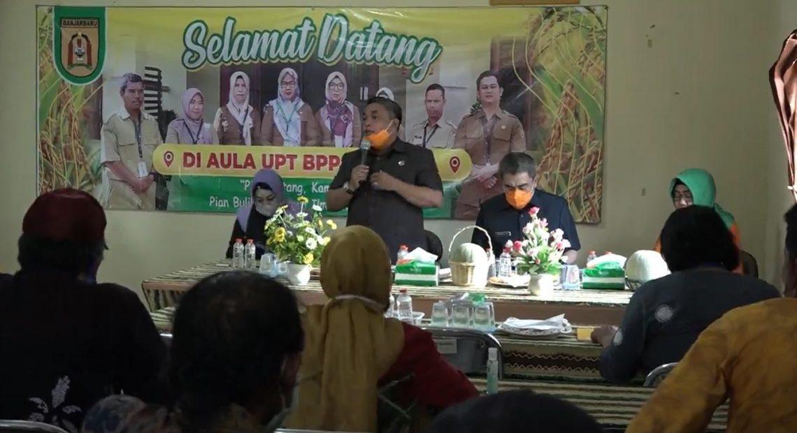 walikota Banjarbaru Nadjmi sambangi UPT BPP Cempaka
