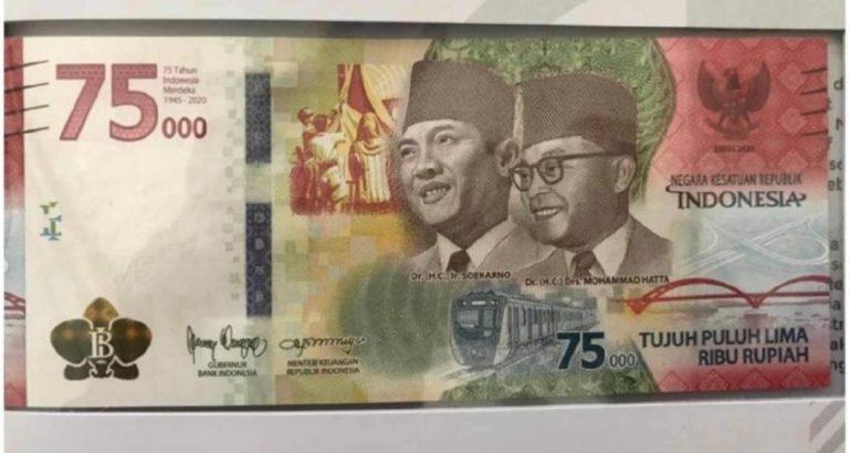 BI Luncurkan Uang Khusus Seri Kemerdekaan Rp 75.000