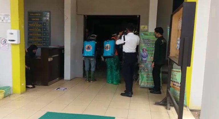 BPBD Sterilkan Perkantoran Pemkab Banjar