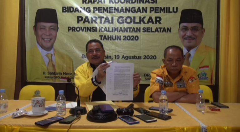 Golkar Usung Ananda dan Mushaffa Zakir di Pilwali Banjarmasin