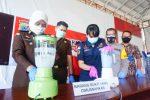 Polres Banjarbaru Musnahkan Sabu 909, 52 Gram Selamatkan Jutaan Jiwa