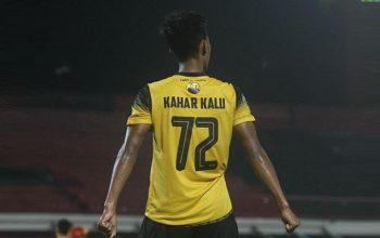 Kahar Kalu, Pemain Muda Barito Putera.(sumber indospot)