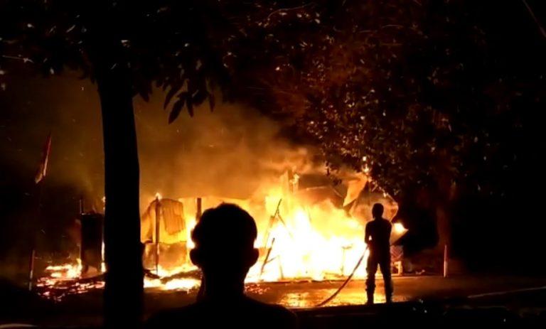 Kebakaran Warung Acil Irus