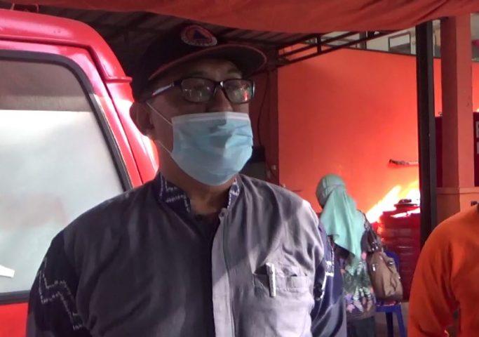 M. Hilmi Kepala BPBD kota Banjarmasin.