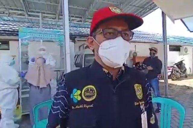 Machli Riyadi juru bicara tim Gugus Tugas penanganan Covid-19 Banjarmasin