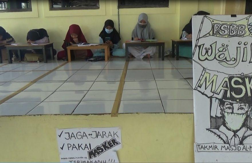 Masjid Muhammadiyah Al Muhajirin BanjarmasinMemberikan Wifi Gratis Untuk Pelajar