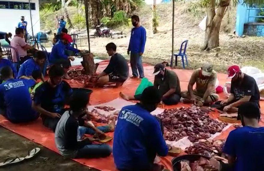 PDAM Intan Banjar melaksanakan ibadah kurban