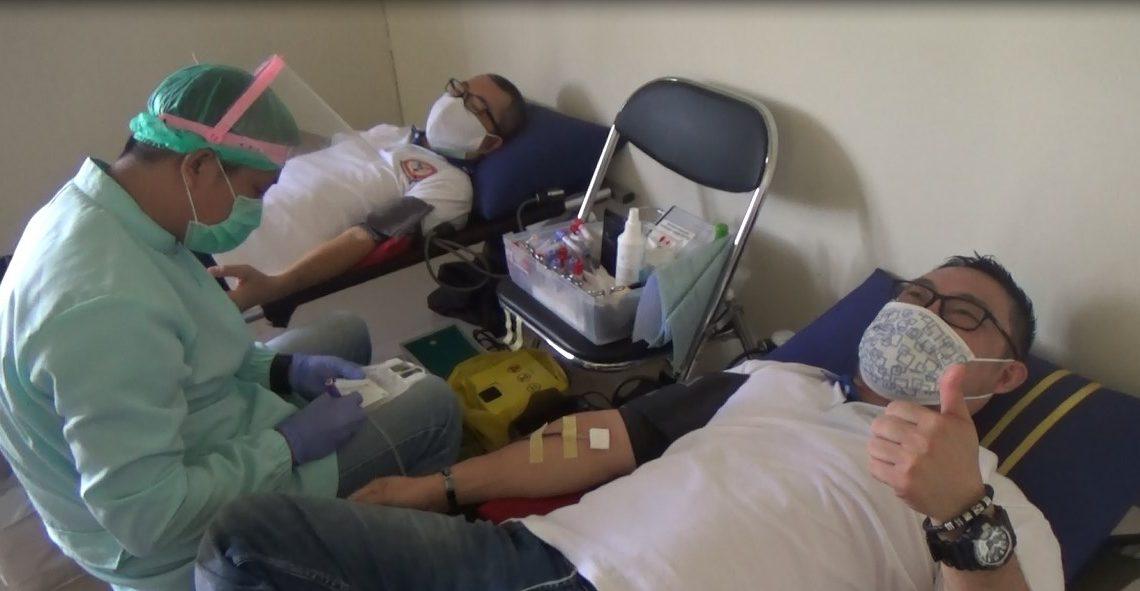 PHKS Kalsel Bantu Donor Darah
