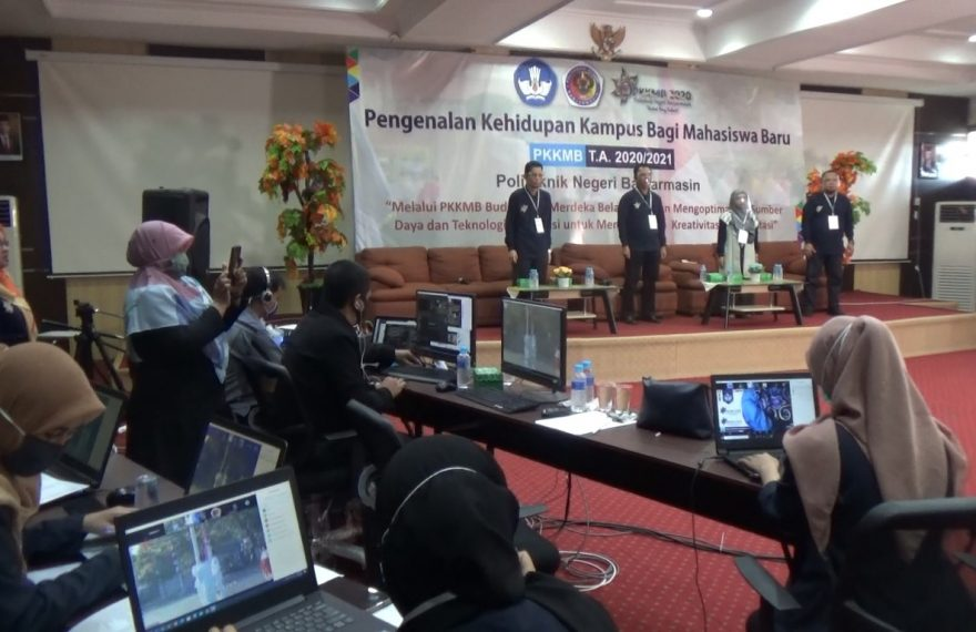 PKKMB Poliban dilaksanakan dengan daring