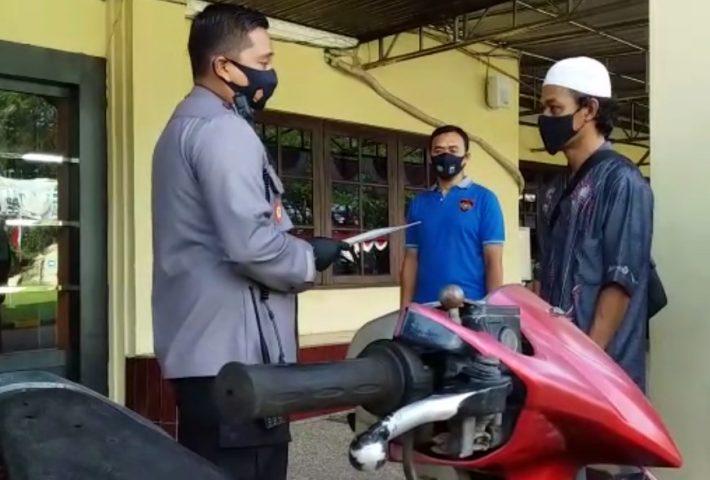 Polres Banjar Serahkan Ranmor Curian ke Pemilik