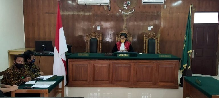 Tersangka Penipuan Pra Peradilkan Penyidik Ditkrimum Polda Kalsel
