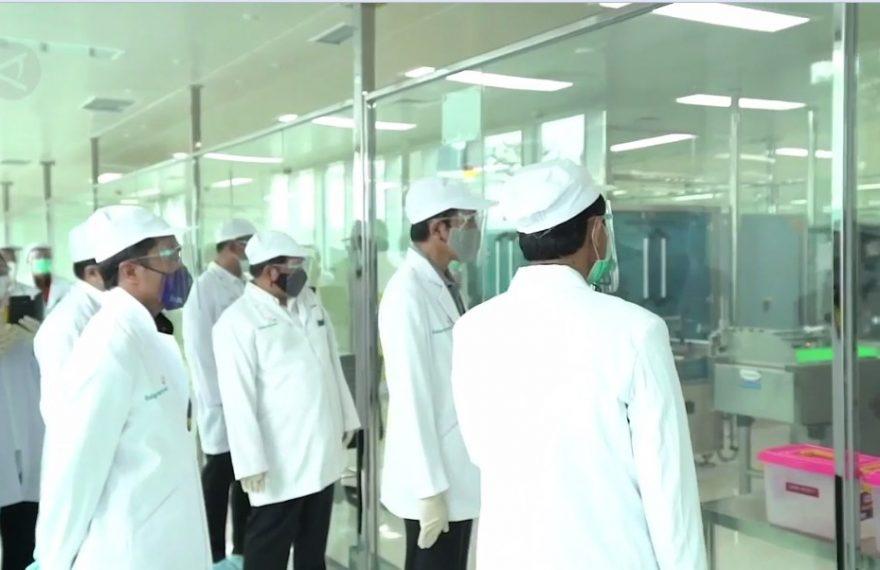 Laboratorium Fakultas Kedokteran Universitas Padjajaran, tengah melakukan uji klinis fase ketiga
