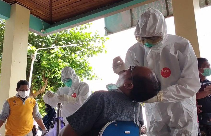 Swab Massal Pegawai BKPSDM Kotabaru
