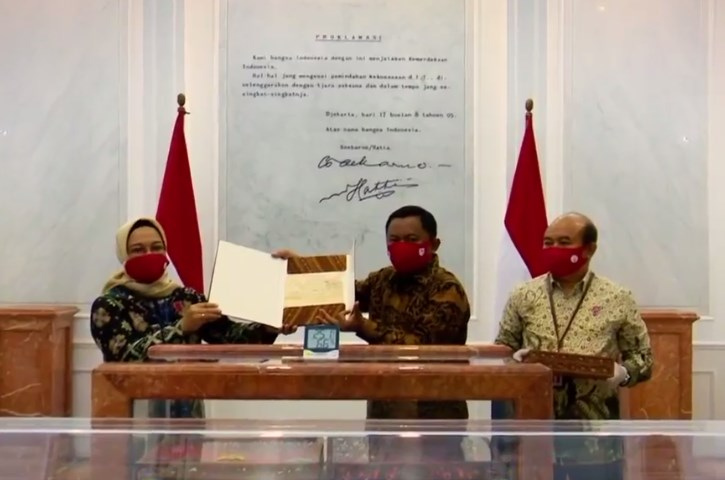Teks Proklamasi Tulisan Tangan Bung Karno Kembali Ke ANRI