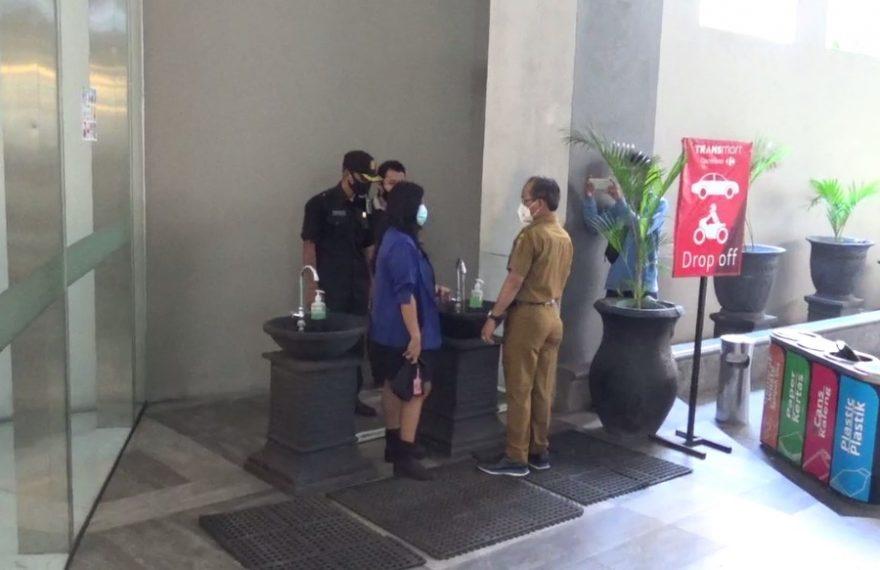 Tim GGTP Banjarmasin Pantau Protokol Kesehatan di Mall