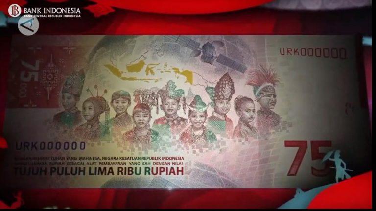 Makna Motif Uang Pecahan Rp75 Ribu Edisi Khusus Kemerdekaan