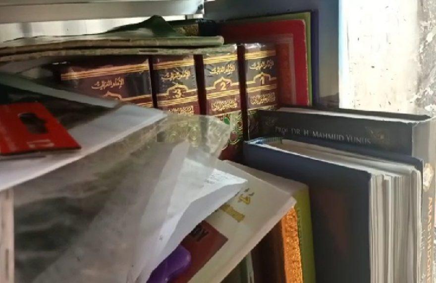 Kitab selamat dari kobaran api