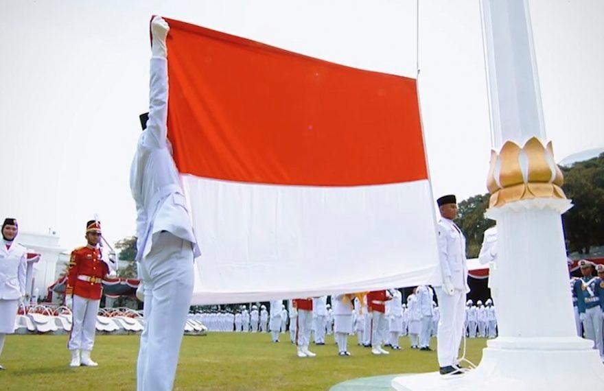 dok : upacara bendera tahun 2019