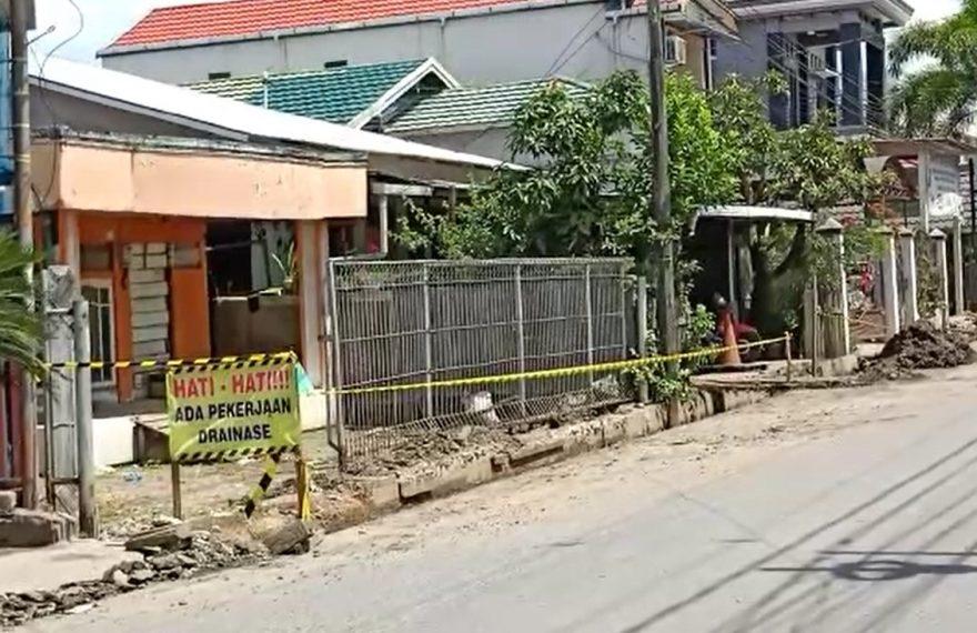 drainase Beruntung Jaya diperbaiki