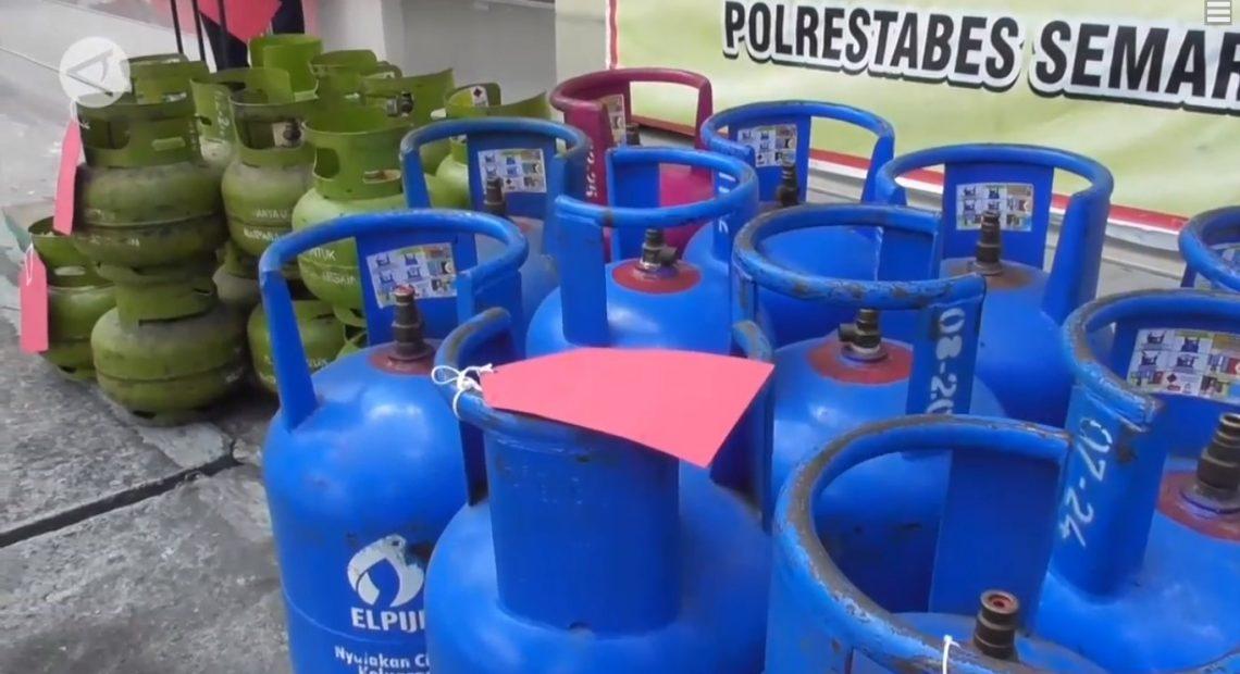 barbuk gas epliji ilegal yang di oplos