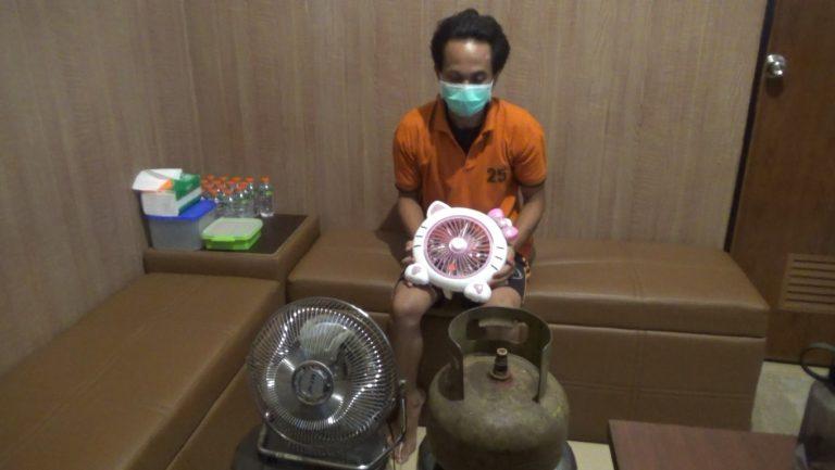Polsek Banjarmasin Barat Amankan Pelaku Pencurian Rumah