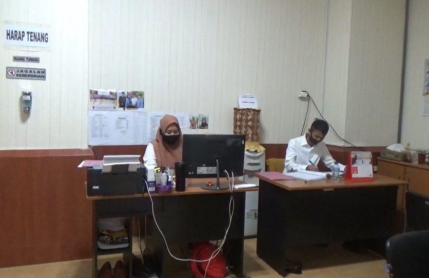 pemberlakuan pegawai masuk ganjil genap di DPRD Kalsel