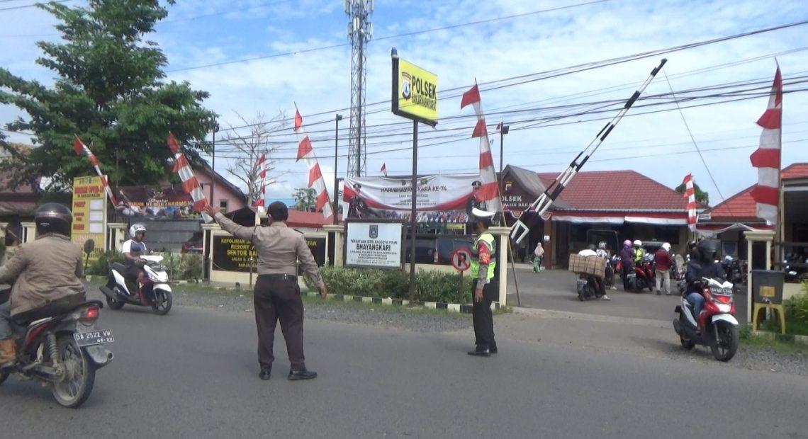 Polsek Banjarmasin Barat gelar Razia Patuh Intan 2020