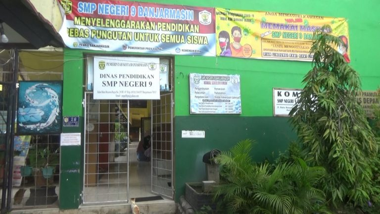 SMPN 9 Banjarmasin Gelar Lomba HUT Kemerdekan Melalui Media Sosial