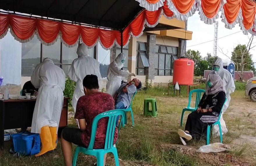 Swab masal di Kotabaru