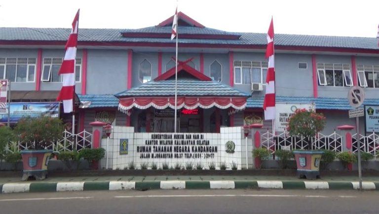 warga binaan mendapatkan remisi peringatan Hut Republik Indonesia ke-75 tahun 2020.