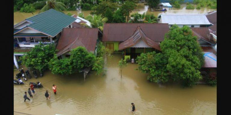 Banjir Rendam 15 Desa di Ketapang Kalimantan Barat