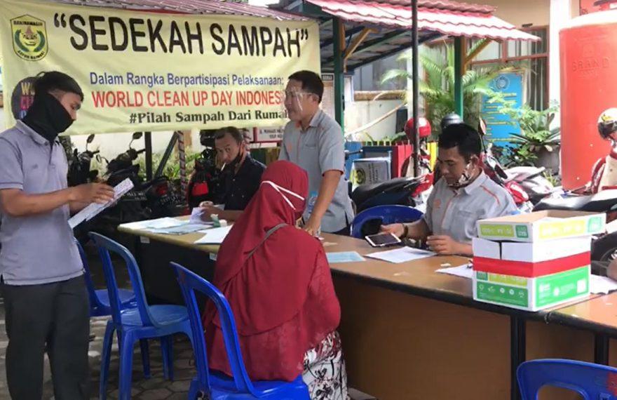 BST diberikan di halaman kantor Banjarmasin Timur