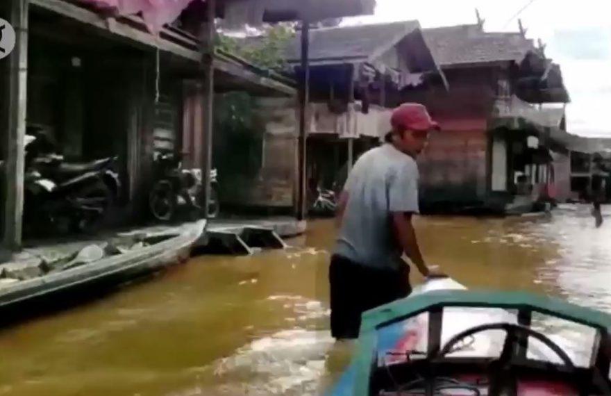 Banjir di Kapuas