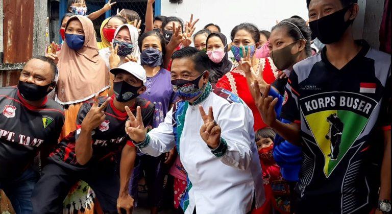 Calon Wali Kota Banjarmasin H. Ibnu Sina, Bersilaturrahmi Dengan BPK Sangga 5