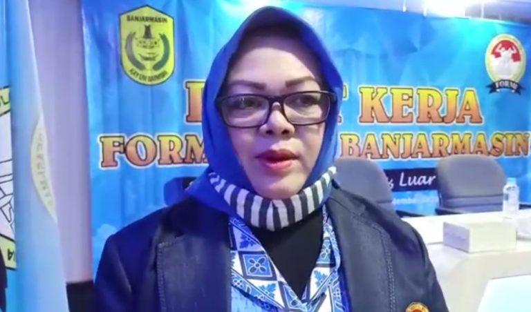 Galoeh Nisa Basuni Sekretaris Umum Formi Kalsel