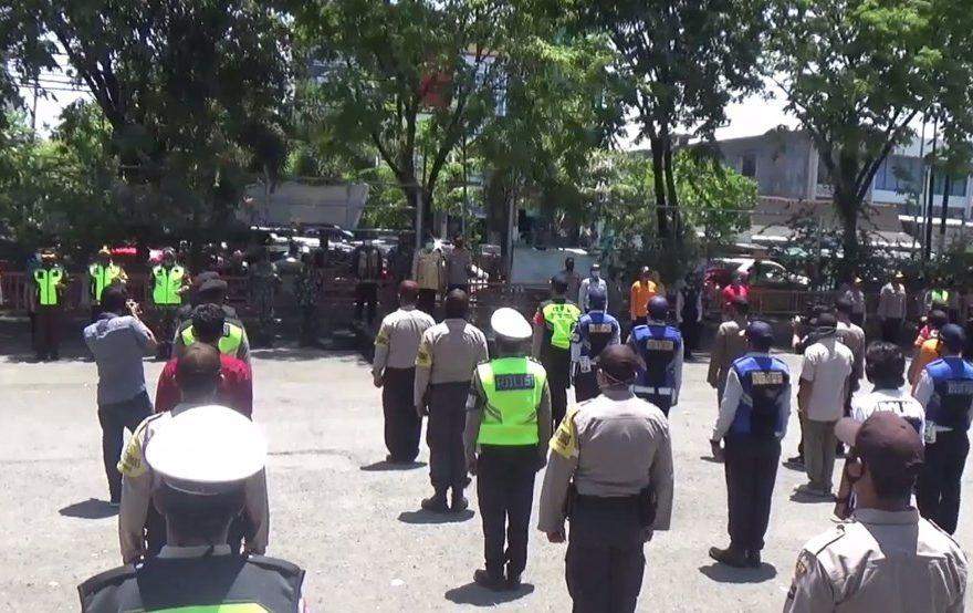 Gubernur Kalsel Pimpin Apel Operasi Yustisi