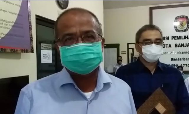 H Martinus dan Darmawan Jaya Paslon Wali kota HMJ