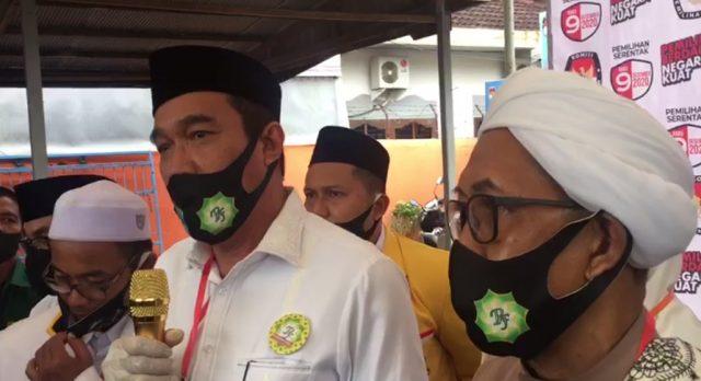 H Rusli dan Guru Fadhlan – Balon Bupati Ddn Wakil Bupati Banjar
