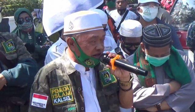 H. Hasan Ketua Ormas Pemuda Islam Kalsel
