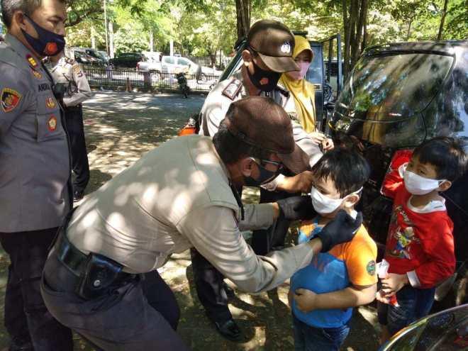 Gelar Operasi Yustisi, Polisi Wajibkan Warganya Pakai Masker