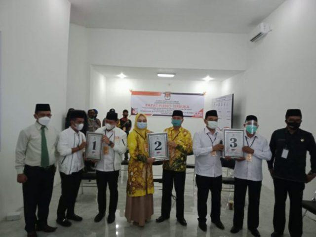 KPU Tanbu Tetapkan Nomor Urut Calon Bupati Dan Calon Wakil Bupati