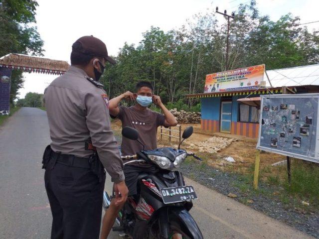 Polsek Kuranji Gandeng Pemuda Adat Bali Edukasi Prokes